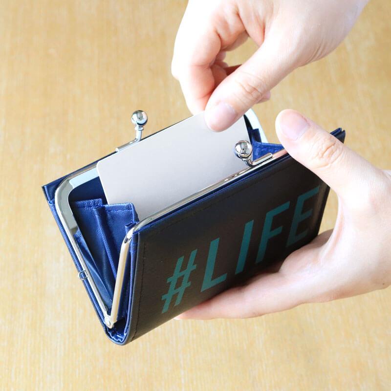 カードケース / ハッシュタグプリント / #LIFE [PPP]