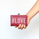 カードケース / ハッシュタグプリント / #LOVE [PPP]