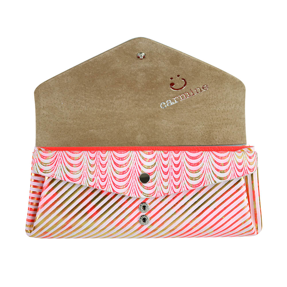 Long Wallet / Koi Leather / ネオンピンク [carmine]