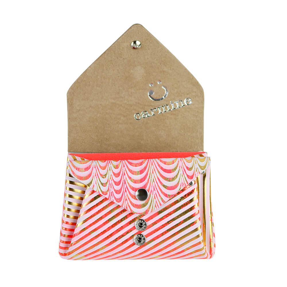 Mini Wallet / Koi Leather / ネオンピンク [carmine]