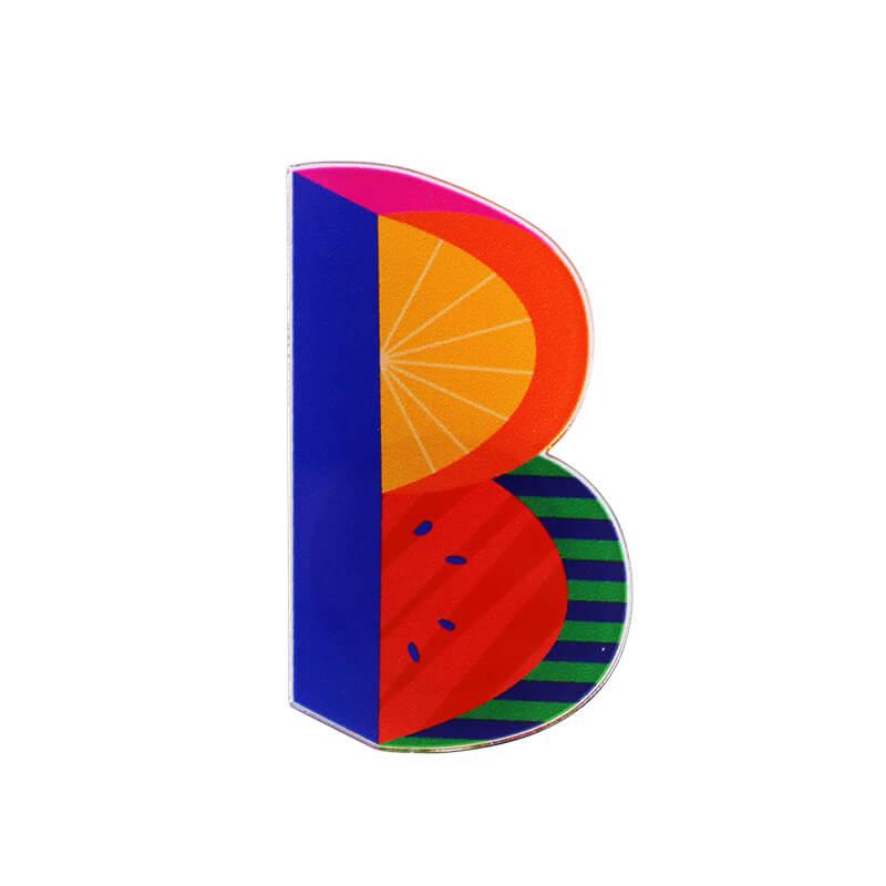 アクリルマグネット / Alphabet B