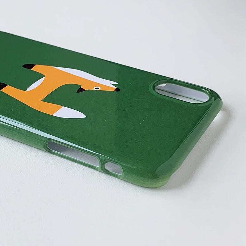 iPhoneケース [iPhoneX/XS対応] / Alphabet H