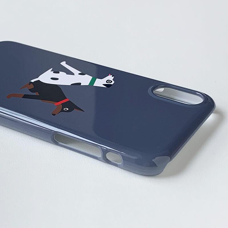 iPhoneケース [iPhoneX/XS対応] / Alphabet M
