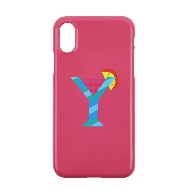 iPhoneケース [iPhoneX/XS対応] / Alphabet Y