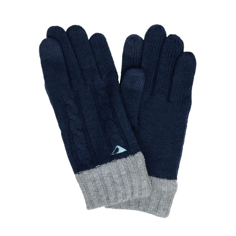 手袋 / メンズ刺繍 / マウンテンネイビー