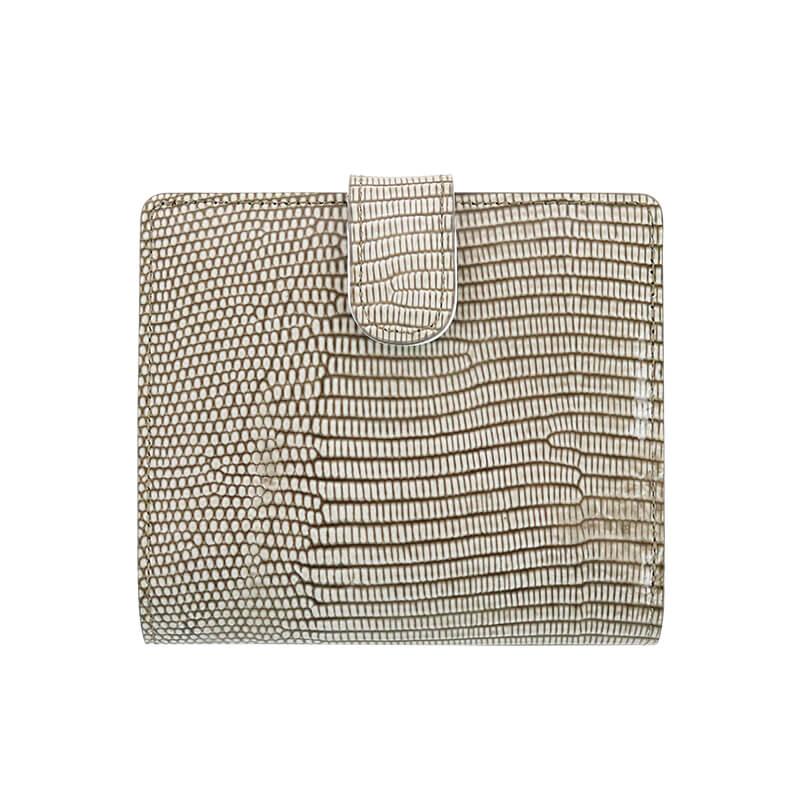 二つ折り財布 / NP130クレール / オーク [Neutral Gray]