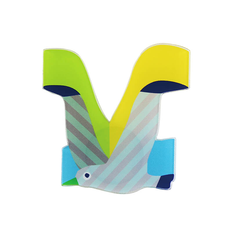 アクリルマグネット / Alphabet V