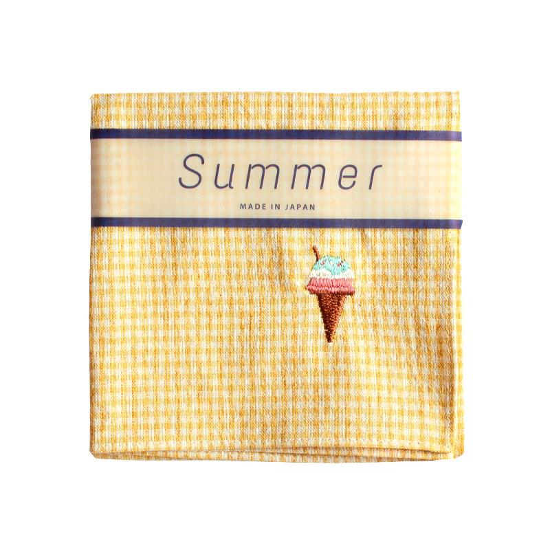 ハンカチ SUMMER / アイスクリーム [ハンカチベーカリー]