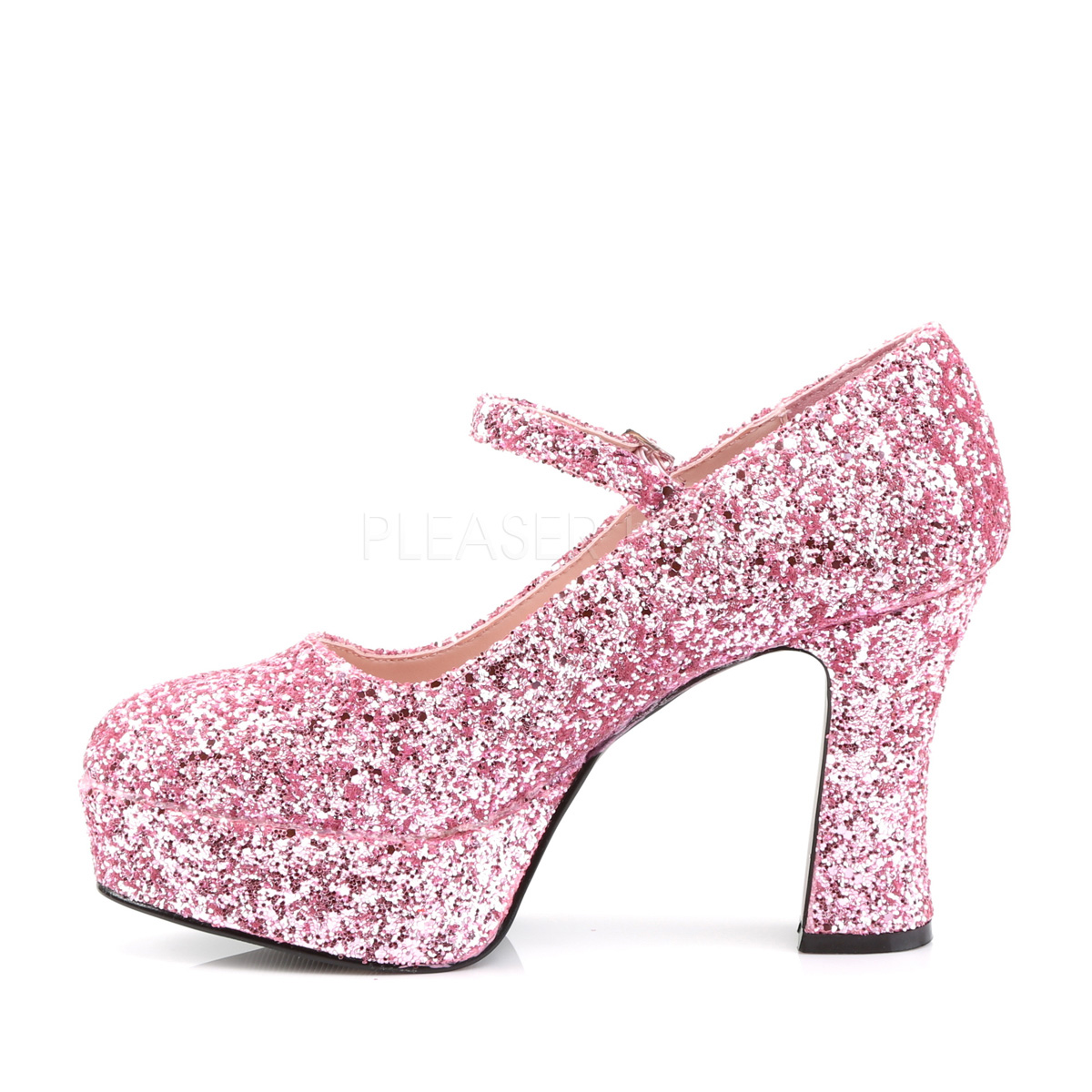 Funtasma MARYJANE-50G 4inch Heel, 1 1/2inch PF, Heel Mary Jane Pump w/Glitter◆取り寄せ