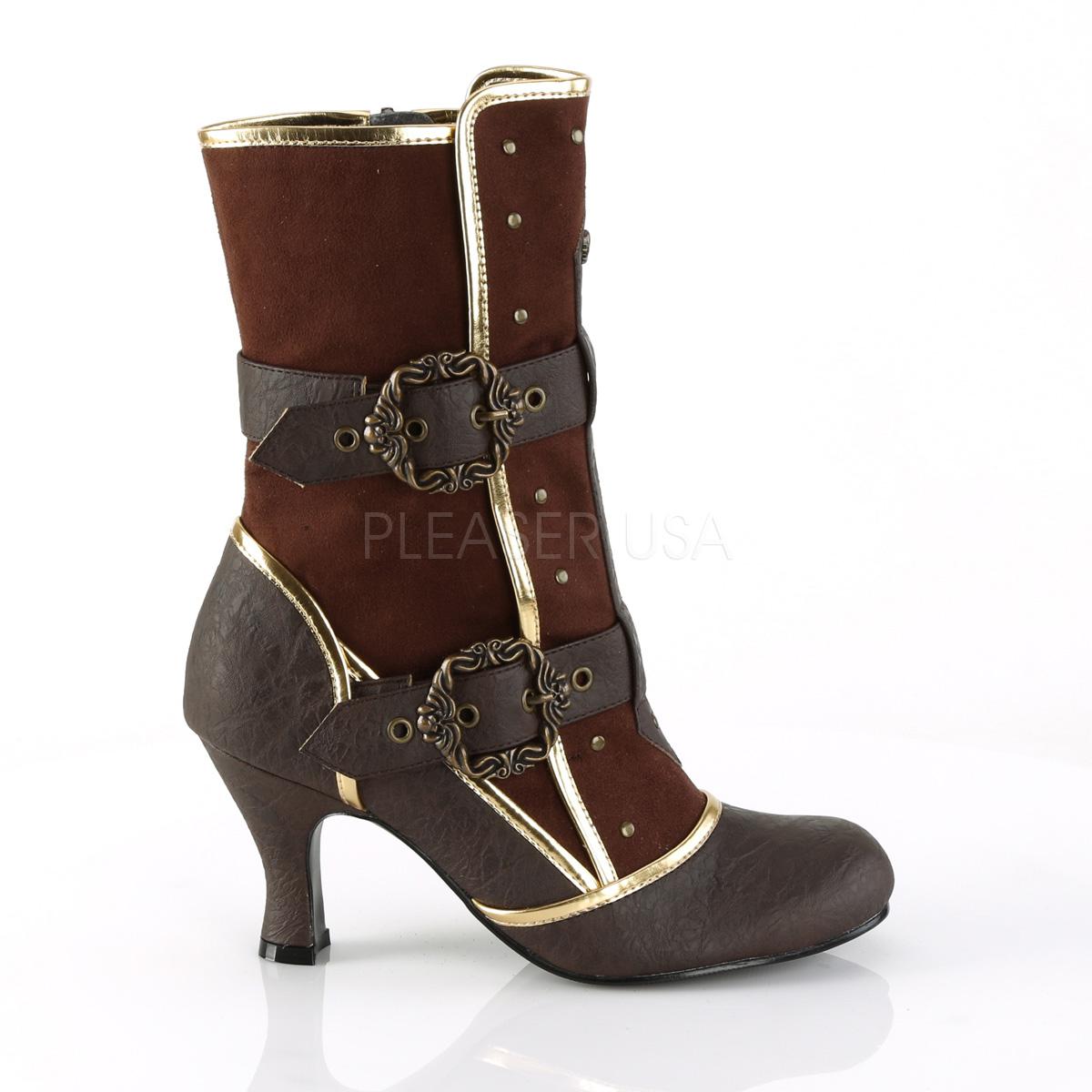 Funtasma MATEY-205 3inch Heel Round Toe Ankle Boot, Side Zip◆取り寄せ