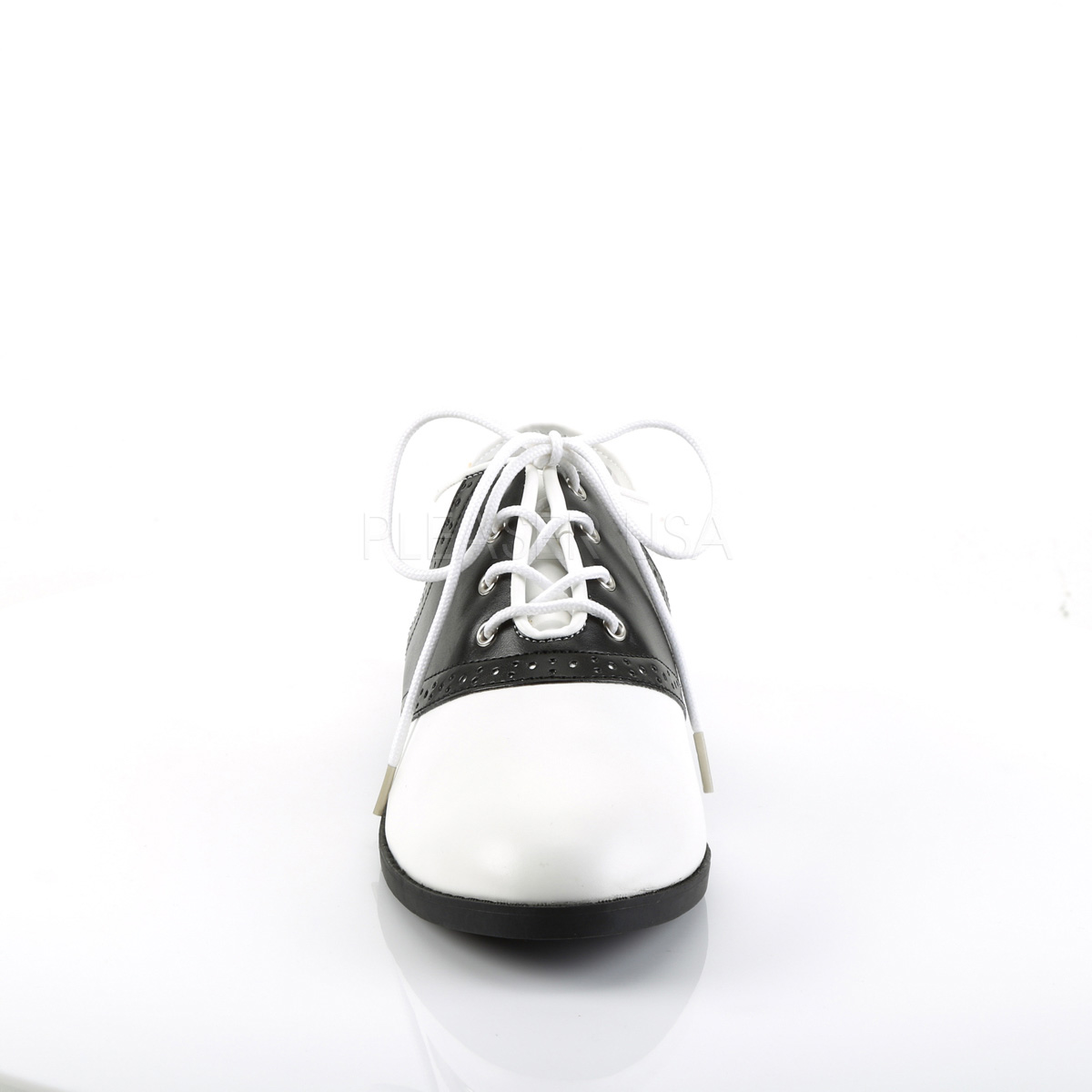 FUNTASMA(Pleaser) SADDLE-50 サドルシューズ ブラック/ホワイト白/黒 2トーン プリーザー◆取り寄せ