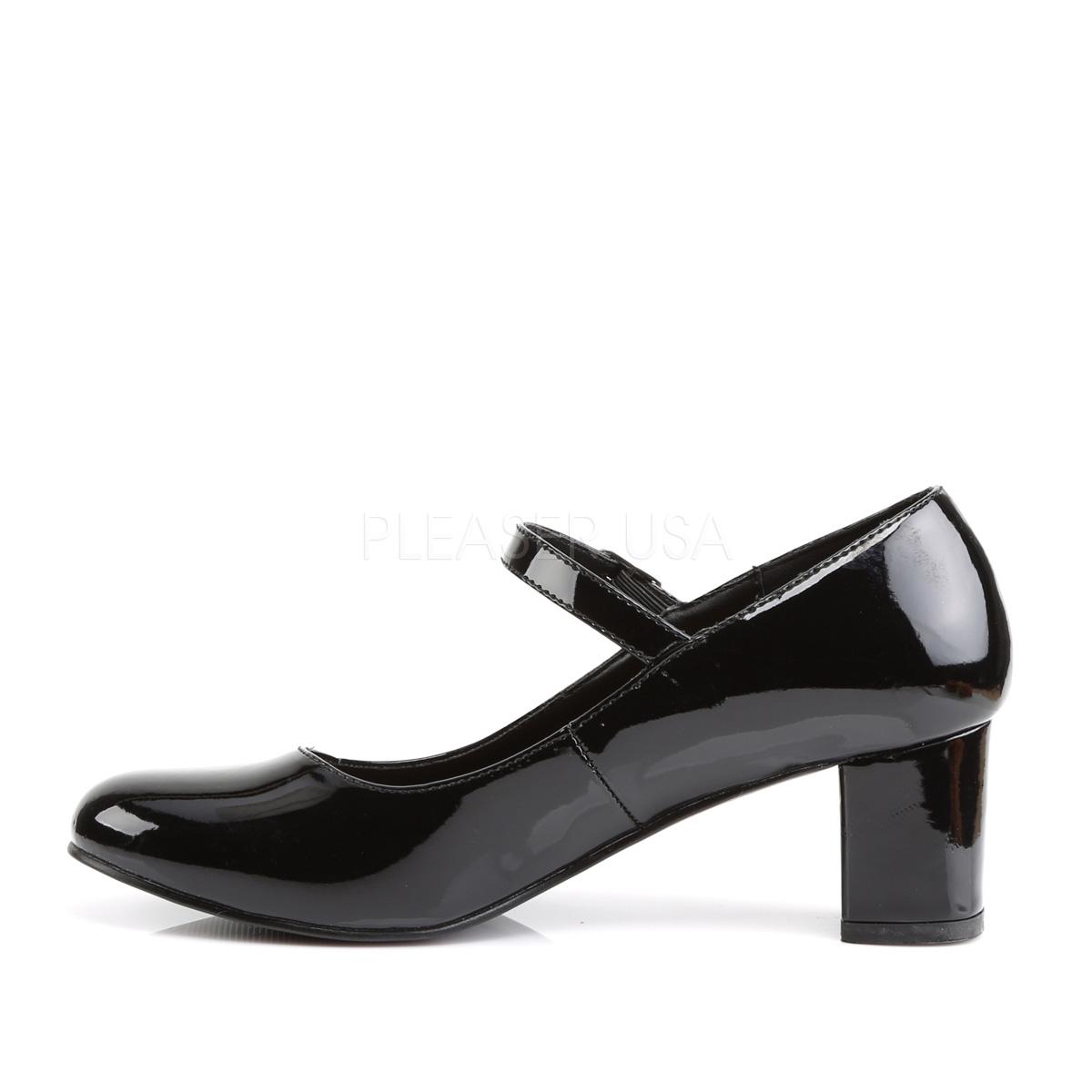 Funtasma SCHOOLGIRL-50 2inch Heel Plain Mary Jane Schoolgirl Retro Shoe◆取り寄せ