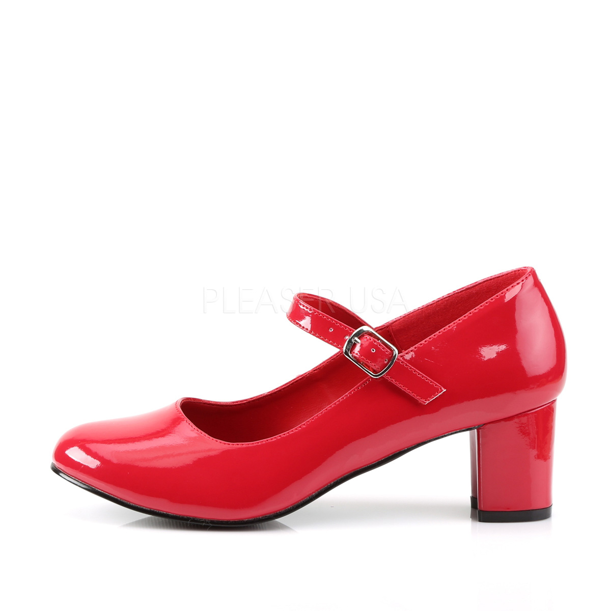 Funtasma SCHOOLGIRL-50 2inch Heel Plain Mary Jane Schoolgirl Retro Shoe◆取り寄せ