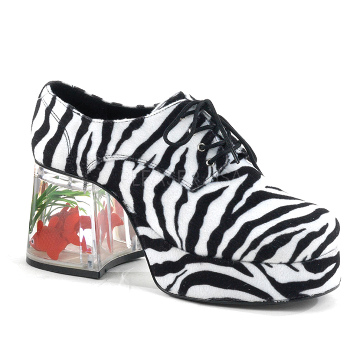 Funtasma PIMP-02 3 1/2inch Heel, 1 1/2inch PF #Men's Disco Platform w/Floating Fish◆取り寄せ
