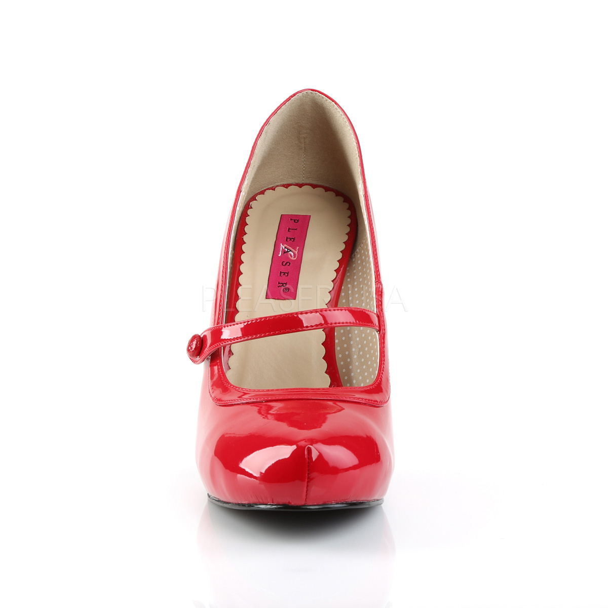 Pleaser Pink Label PINUP-01 パンプス 4 1/2inch Heel, 3/4inch Hidden PF Maryjane Pump◆取り寄せ