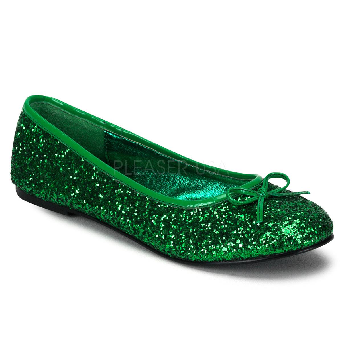 Funtasma STAR-16G Adult Ballet Glitter Flat with Bow Accent, Fantasy, Fairy◆取り寄せ