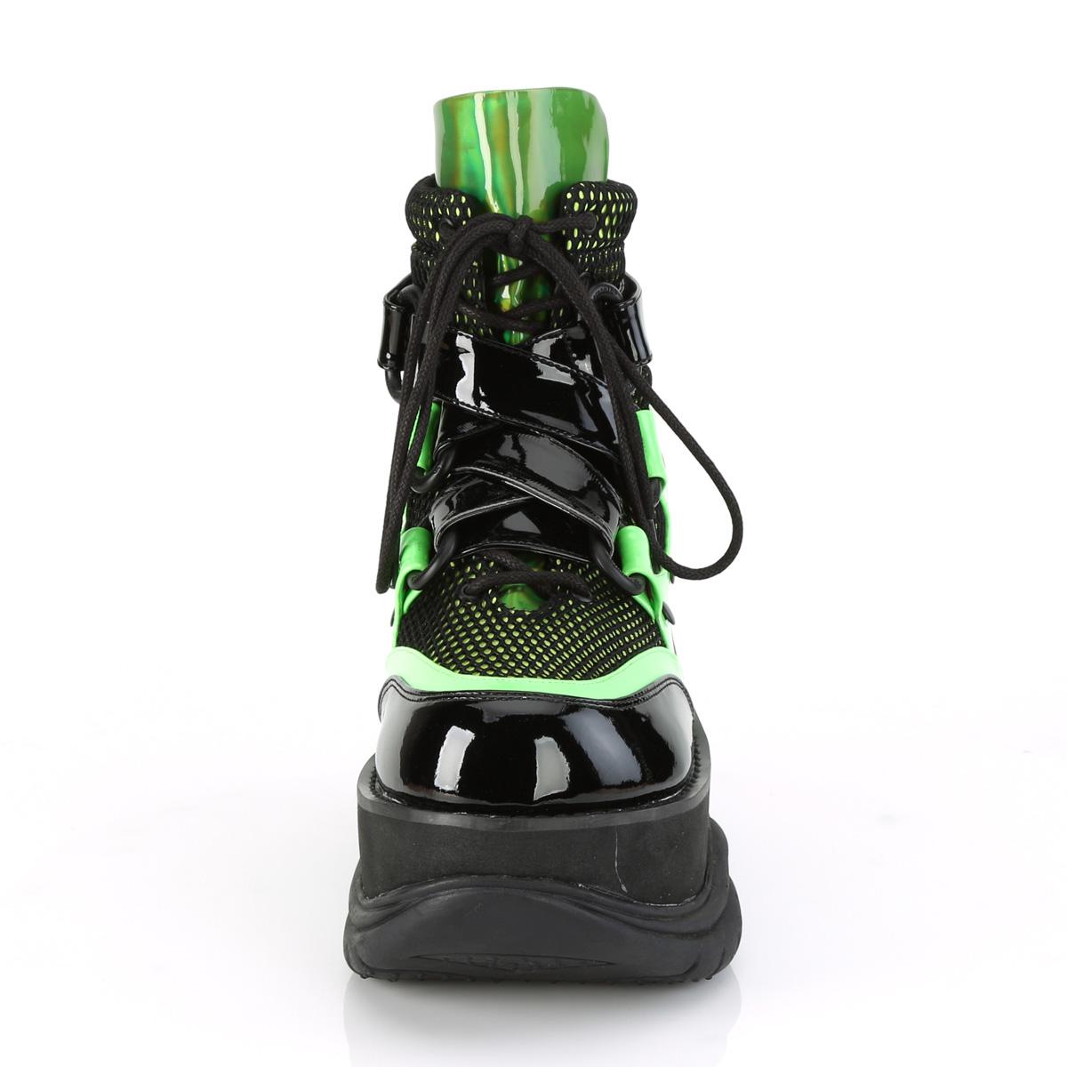 Demonia(デモニア) NEPTUNE-126 厚底スニーカー 3 inch PF Lace-Up Ankle Boot #Men's/Unisex◆取り寄せ