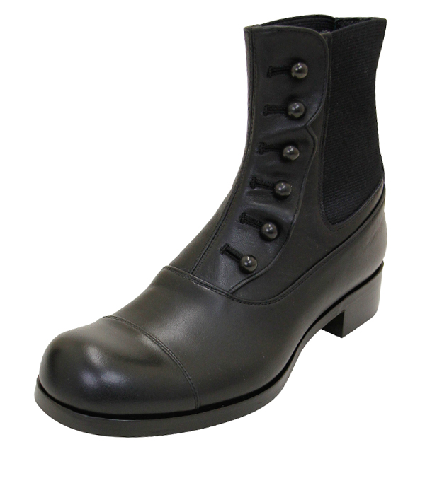 BUTTONED SIDEGORE BOOTS