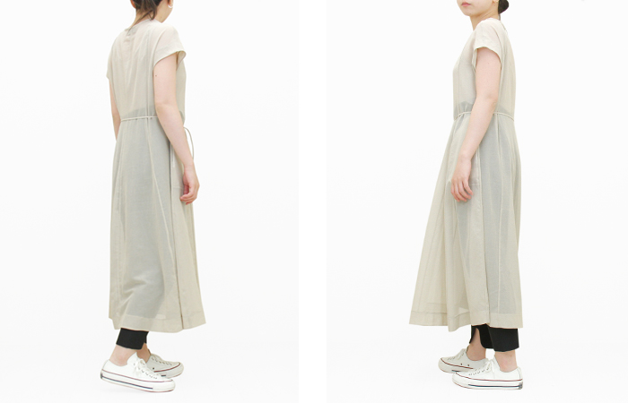 40%OFF<br>Nude Paneled Dress
