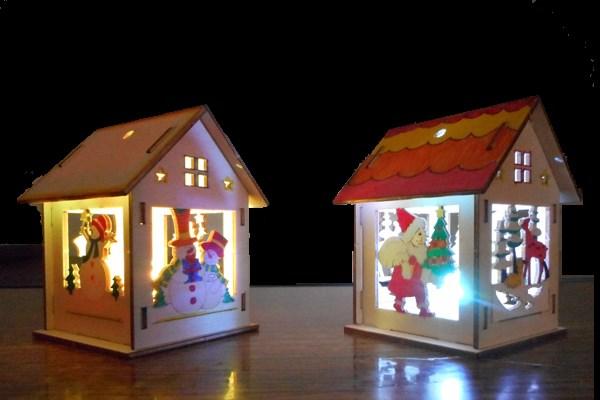 LEDクリスマスハウス