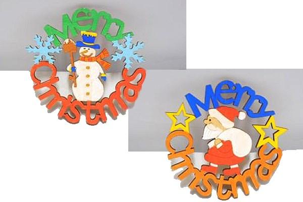 クリスマスの絵付けボード