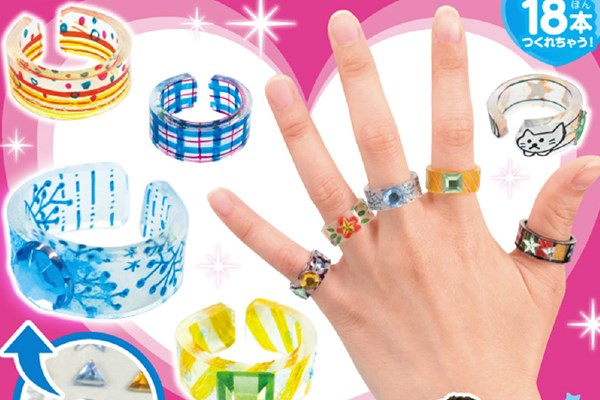 プラ板で指輪作り