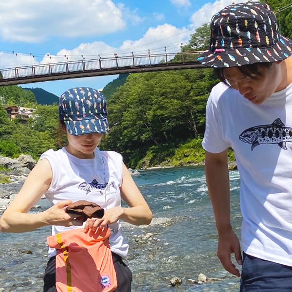 UO-Tシャツ ヤマメ【全3色】