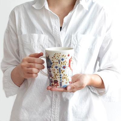 正規販売店 イッタラ タイカ マグ [400ml / レッド] iittala Taika Mug