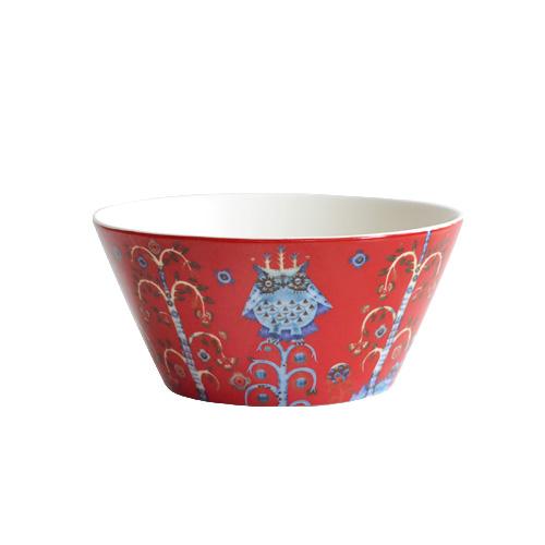 正規販売店 イッタラ タイカ ボウル [600ml / レッド] iittala Taika Bowl