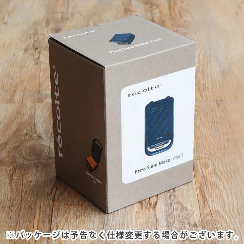 レコルト プレスサンドメーカー プラッド recolte PressSandMaker Plaid [RPS-2]
