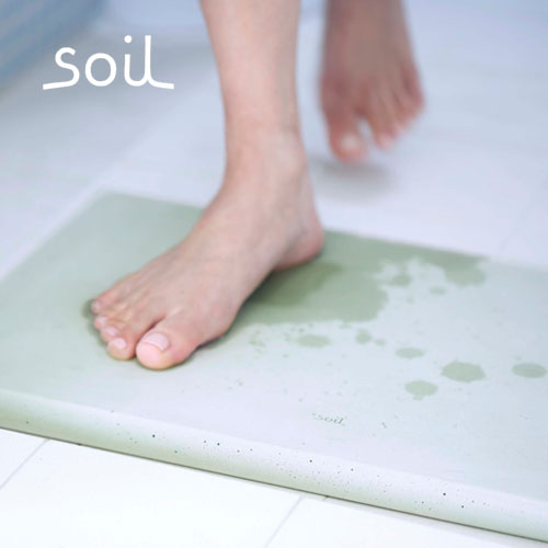 ソイル 珪藻土バスマット soil BATH MAT