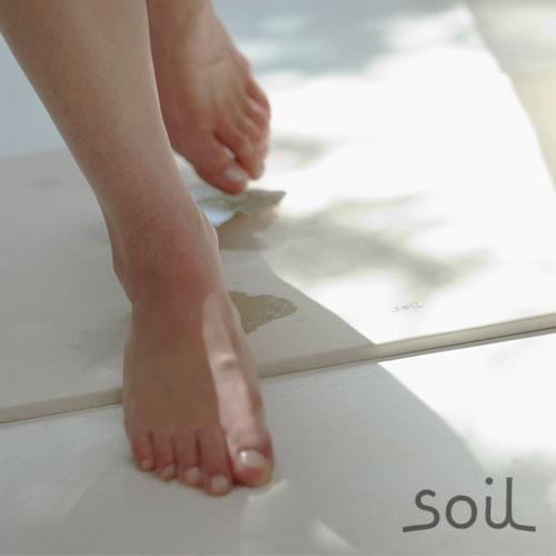 ソイル 珪藻土バスマット soil  BATH MAT 《 light 》
