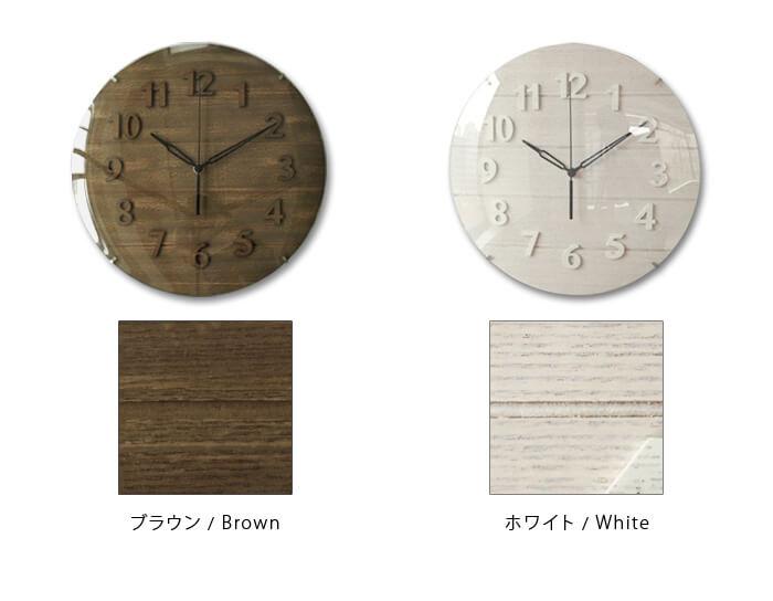 イノセントクラフトワークス ウッドウォールクロック INNOCENT CraftWarks Wood Wall Clock