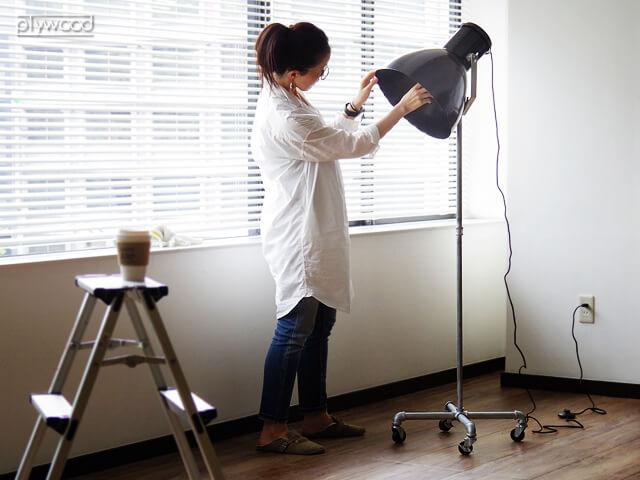 ハモサ ハント フロアランプ HERMOSA HUNT FLOOR LAMP