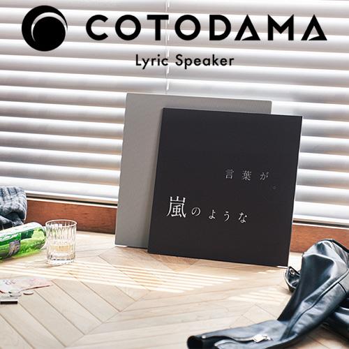 COTODAMA Lyric Speaker Canvas LS2 コトダマ リリックスピーカー キャンバス