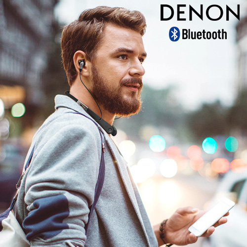 デノン ワイヤレス インイヤー ヘッドホン [AH-C820W] DENON Wireless In-Ear Headphone