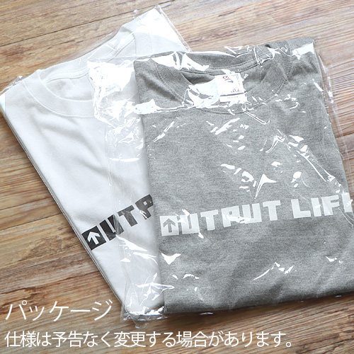 アウトプットライフ 6.2oz ヘビーウェイトTシャツ OUTPUT LIFE EASY CAMP EASY GO T-Shirt