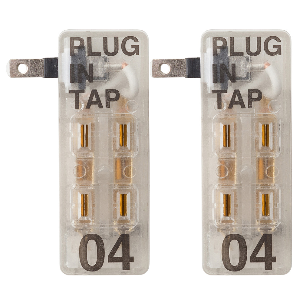 プラグインタップ 4個口《2個セット》 PLUG IN TAP 04 x 2set