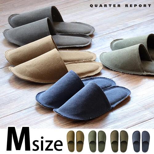 クォーターリポート エイジ スリッパ QUARTER REPORT Age slipper [Mサイズ]