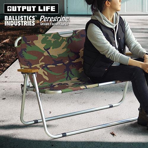 バリスティクス x ペレグリンファニチャー x アウトプットライフ フォールディング ソファ  BALLISTICS × Peregrine Furniture × OUTPUT LIFE FOLDING SOFA -Limited Edition-