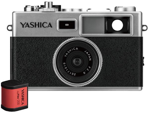 ヤシカ デジフィルムカメラ Y35 YASHICA digiFilm Camera with digiFilm 200 digiFilm1本付 YAS-DFCY35-P38