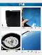 TRIBECA BLACK AND BLUE 160 PLATE トライベッカ ブラック アンド ブルー 16cm プレート