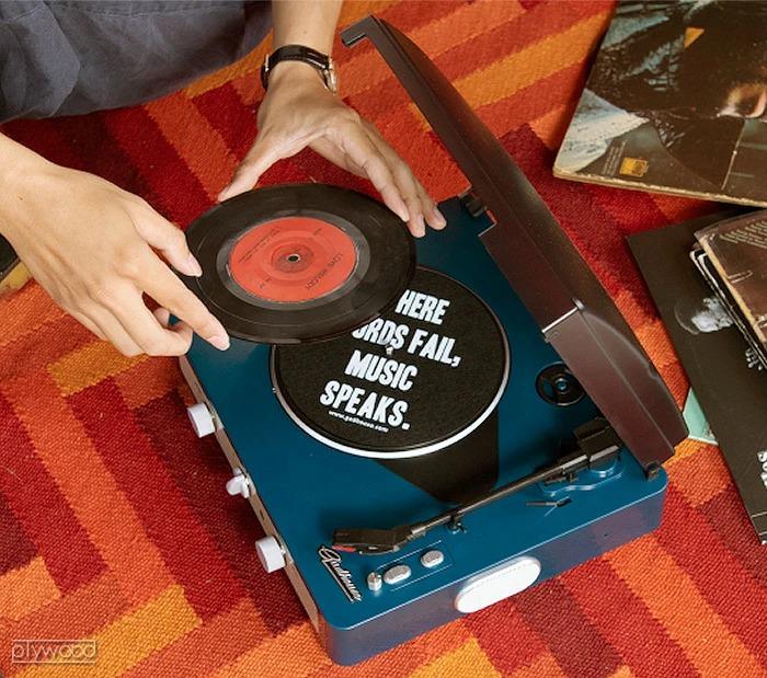 BRAD RETRO RECORD PLAYER