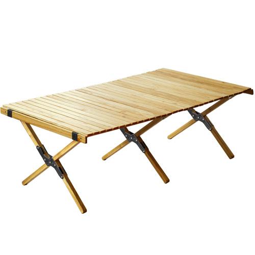アウトプットライフ ウッド ロールトップテーブル [ Lサイズ ] OUTPUT LIFE WOOD ROLL TOP TABLE Lサイズ