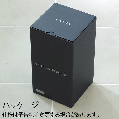 バルミューダ ザ・スピーカー BALMUDA The Speaker M01A-BK