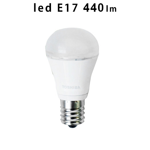 TOSHIBA 東芝 LED電球 ミニクリプトン形 LDA4N-H-E17/S/40W E17 440lm 昼白色 下方向タイプ 密閉器具対応