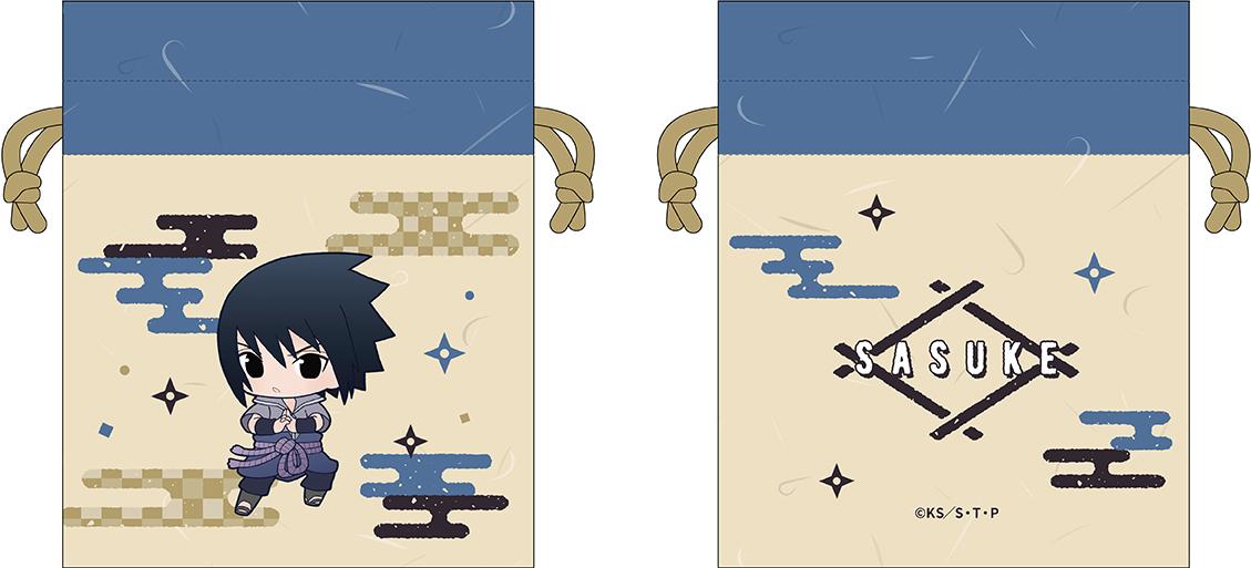 <予約>「NARUTO -ナルト- 疾風伝」巾着 ぷにキャラ PALE TONE series 結印ver. (IC)
