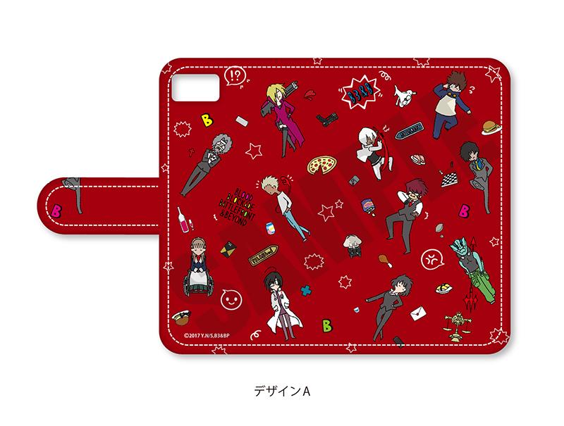 「血界戦線 & BEYOND」プレイピー 手帳型iPhoneケース
