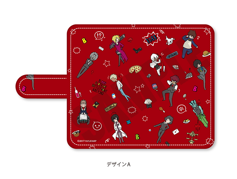 「血界戦線 & BEYOND」プレイピー 手帳型マルチタイプスマホケース