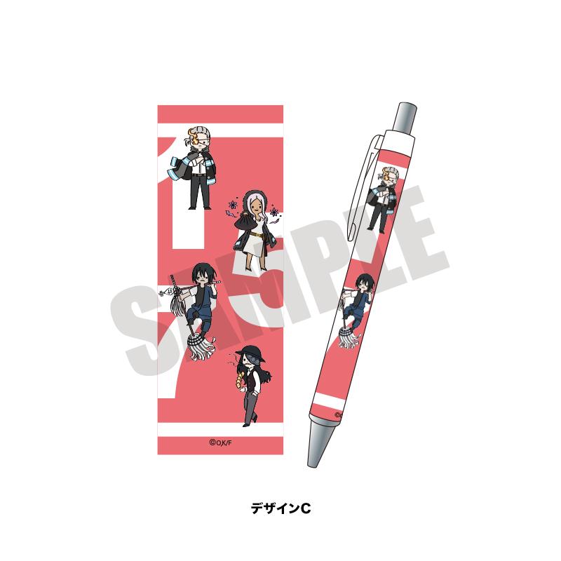 <予約>「炎炎ノ消防隊」プレイピー ボールペン
